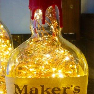 MAKER'S MARK BOTTLE LAMP