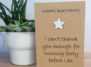 BIRTHDAY CARDS - AGE