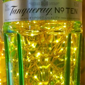 TANQUERAY BOTTLE LAMP
