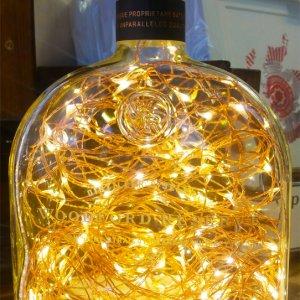 WOODFORD RESERVE BOTTLE LAMP