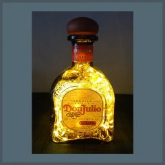 Don Julio Tequila Bottle Lamp