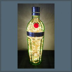 Tanqueray No 10 Gin Bottle Lamp