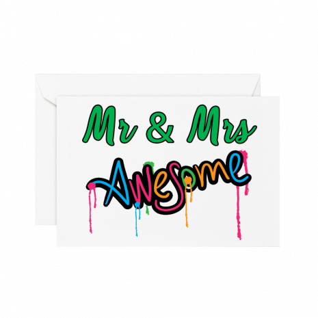Mr & Mrs Awesome