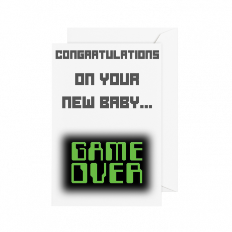 New Baby Game Over