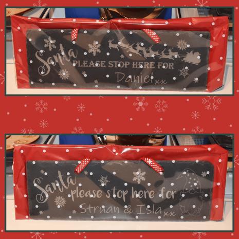 Santa Stop Signs